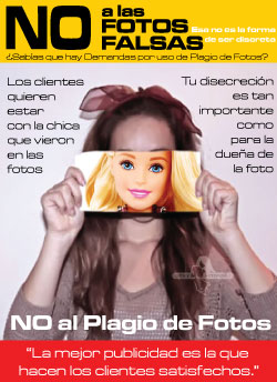 No fotos falsas